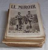 Journal LE MIROIR (Année 1916) français WW1
