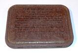Couvercle de boite Tea Ration GB WW2