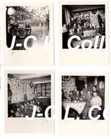 Lot de 8 photos allemandes WW2 Boisjean Bois Jean (France - Pas-de-Calais ou Belgique)