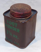 Boite Foot Powder GB WW2
