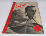 Magazine Signal INCOMPLET 1er numéro avril 1941 allemand WW2