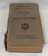 Manuel du gradé d'infanterie 1938 tampon Régiment de Sapeurs-Pompiers de Paris français WW2