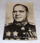 Carte postale Maréchal Joukov soviétique URSS WW2