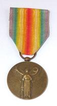 Médaille Interalliée 1914-1918 français WW1