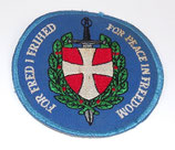 Insigne For Peace in Freedom, For Fred I Frihed armée danoise