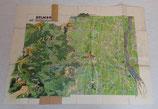 Carte de Colmar/Kolmar allemande WW2