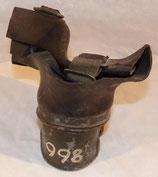 Pièce détachée partie centrale de masque à gaz allemand WW2