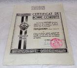 Certificat de bonne conduite, 1ère Région Militaire 1953 armée française