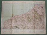 Carte ABBEVILLE français WW1/WW2