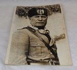 Photo Keystone de Benito Mussolini Italie WW2