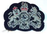 Insigne DIEU ET MON DROIT, Warrant Officer Class 1 GB WW2