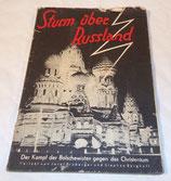 Livre Sturm uber Russland 1930 allemand WW2