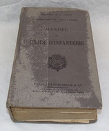 Manuel du gradé d'infanterie 1932 nominatif Lieutenant-colonel français WW2