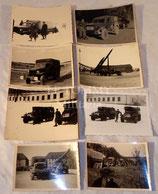 Lot de 8 photos originales années 50/60 armée française
