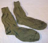 Paire de chaussettes en laine verte US WW2 (N°2)