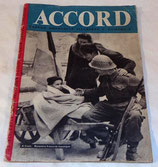 Revue Accord N°8 (apportée par la RAF) GB WW2