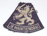 Insigne JE MAINTIENDRAI modèle RAF armée hollandaise (N°2)