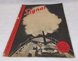 Magazine Signal 2ème numéro octobre 1942 allemand WW2