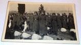 Photo SS Der Fuhrer prise lors d'un enterrement allemande WW2