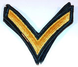 Paire de grades PFC Private First Class US Vietnam