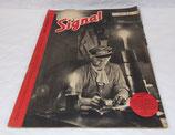 Magazine Signal INCOMPLET numéro décembre 1941 allemand WW2