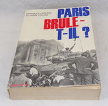 Livre Paris brûle-t-il ?, Dominique Lapierre Larry Collins, Robert Laffont