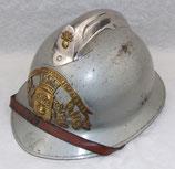 Casque modèle 1926/1933 des Sapeurs-Pompiers de TOUQUES (14, Calvados, Normandie) français
