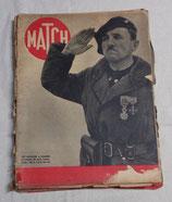 Lot de 11 revues Le MATCH de la guerre (de mars 1940 à juin 1940) français WW2