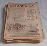 Revue Les Annales français WW1