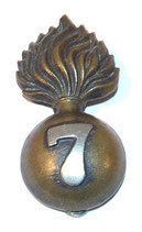 Cap badge 7th City of London Battalion GB WW1