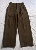 Pantalon BD Battledress (type GB WW2) armée hollandaise