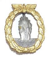 Insigne Minensucher-Kriegsabzeichen Kriegsmarine allemand WW2 REPRODUCTION