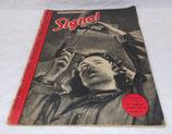 Magazine Signal INCOMPLET 2ème numéro janvier 1941 allemand WW2