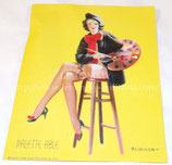 Pin-up de Gil ELVGREN (Palette-Able) US WW2