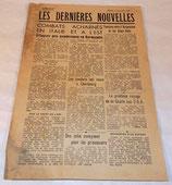 Tract Les dernières nouvelles numéro 17 mardi 4 juillet 1944 français WW2