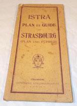 Istra plan et guide de Strasbourg années 20/30 français/allemand