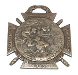 Médaille Journée du poilu 25-26 décembre 1915 français WW1