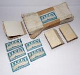 "Très rare carton de stockage lames de rasoir ""The Fleet"" + 5 lames GB WW2 RAF/SOE"