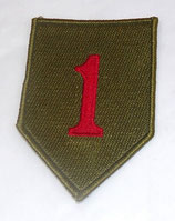 Insigne 1st Infantry Division Big Red One US WW2 REPRODUCTION