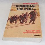 Livre Djebels en feu, Georges Fleury, Grasset