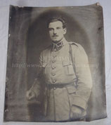 Photo portrait soldat français WW1 2ème Régiment d'artillerie