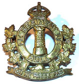 Cap badge Le Regiment de Hull Canada WW2
