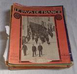 Revue Le pays de France français WW1