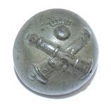 Bouton petit module 17mm couleur gris Artillerie armée française WW1