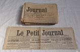 Le Petit Journal français WW1