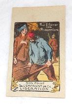 Bon point de l'emprunt de la libération, Pour libérer nos prisonniers français WW1