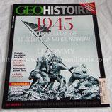 GEOHISTOIRE 1945 La fin de la guerre le début d'un monde nouveau