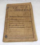 Livret individuel 11ème Bataillon de Chasseurs à Pied/1er BCP/60ème Régiment Territorial d'Infanterie RIT français WW1