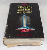 Livre Mémoires d'un agent secret de la France Libre II, Rémy, Editions France-Empire