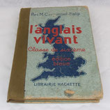 Livre/manuel scolaire L'anglais vivant avec FAUX tampon allemand WW2